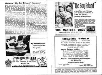 Boy Friend souvenir (click for full-sized image)